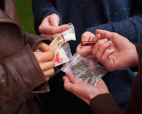 Mezclar las drogas