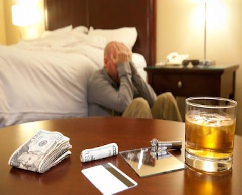 El 65% de terapias son de alcohol y cocaína