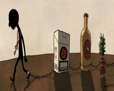 ¿Cómo se desarrolla una adicción al alcohol?