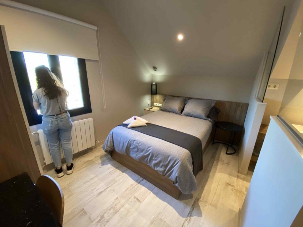 Habitación individual, aseo incorporado, ducha de hidromasaje