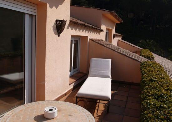Suite con balcón Clínicas Cita