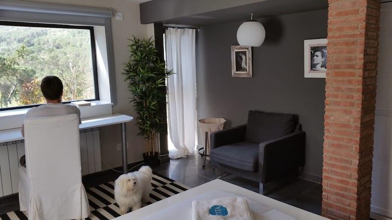 Habitación suite con bañera hidromasaje