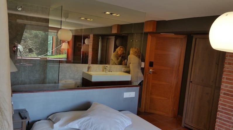 Lavabo habitación suite panorámica